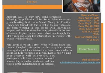 EFIT and Trauma with Dr. Leanne Campbell- online opportunity